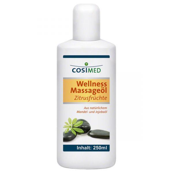 cosiMed Wellness Massageöl Zitrusfrüchte 250 ml