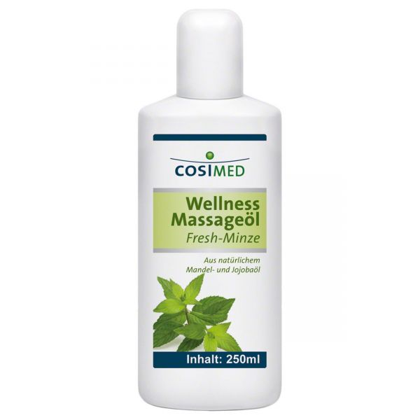 cosiMed Wellness Massageöl Fresh-Minze 250 ml