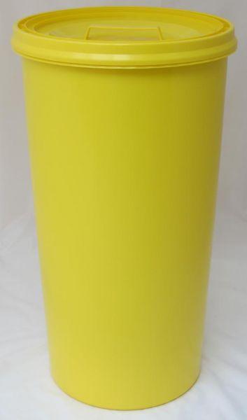 Gelber Sack - Tonne gelb - Müllsackständer - Müllständer - Mülleimer - Wertstoffständer - 60 l