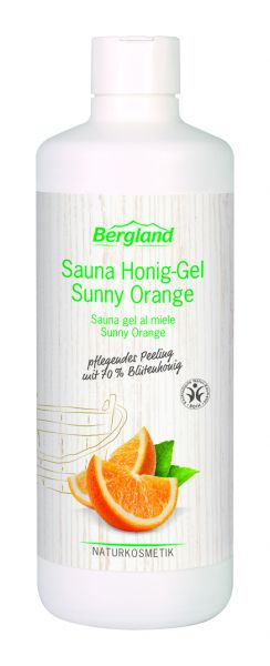 Sauna Honig-Gel Sunny Orange 600 g