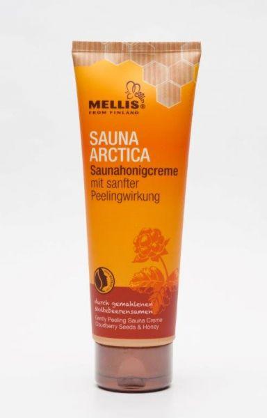 finnische Saunahonigcreme mit sanfter Peelingwirkung 125 Gr. mit Moltebeerensamen