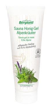 Sauna Honig-Gel Alpenkräuter 125g