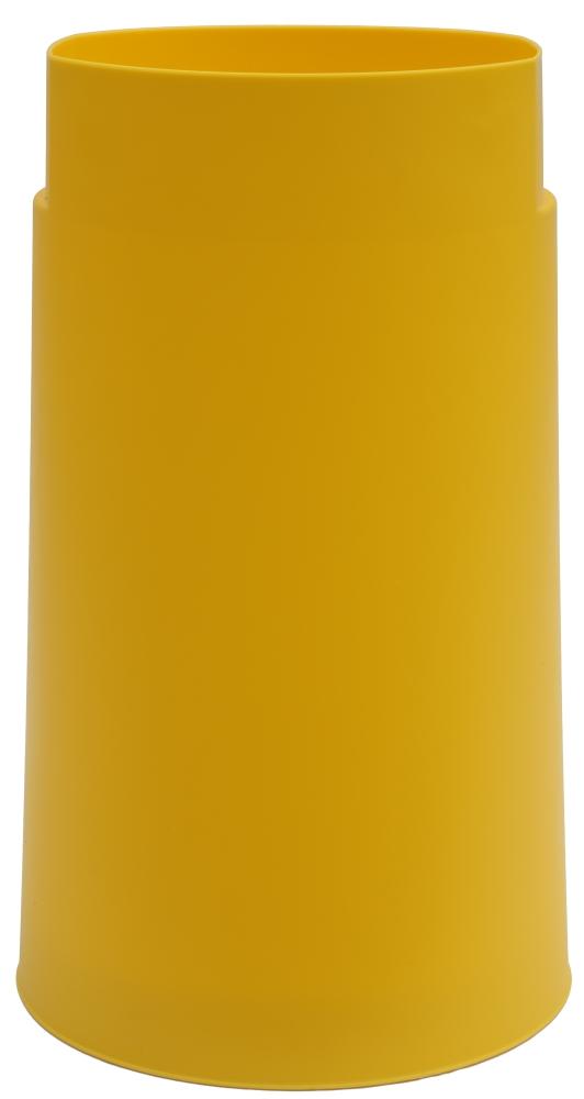 Vorschau Sacktonne Gelb Fur Gelben Sack Mit Grauem Deckel