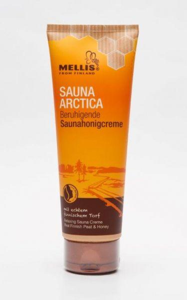 Beruhigende finnische Saunahonigcreme 125 Gr. mit Torf